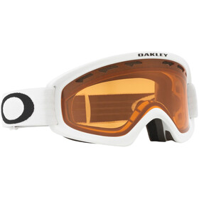 Oakley O Frame 2.0 Pro XS Gogle zimowe Młodzież, matte white/persimmon & dark grey